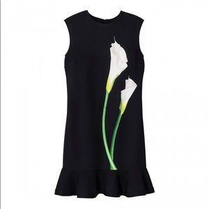 NWT Victoria Beckham Target Calla Lilly Dress XS